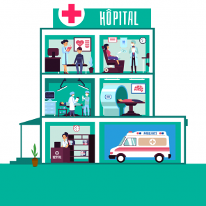 Hopital - illustration